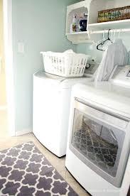 laundry room rugs makeover love that rug hummingbird runner cute whimsical