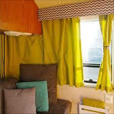 Campervan Design Curtains 25 Cute Camper Curtain Color And Design Ideas Smart Home