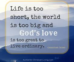 Christian Living Quotes Best of Authentic Christian Living Growing Together To Live Authentically