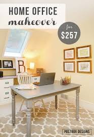 budget home office furniture. Small Home Office Makeover With File Cabinet Desk. This Was Decorated From Scratch On Budget Furniture