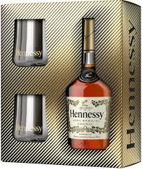 Hennessy Design Set Hennessy V S Gift Box With 2 Glasses New Year Design