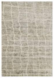 robar industrial rustic gray birch jute wool rug 4x6