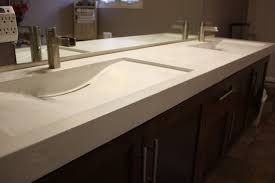 cool trough sink for bathroom vanity with cabinet and bathroom mirror for bathroom design
