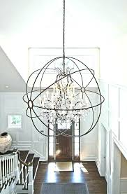 extra large chandeliers as well globe chandelier within ideas 0