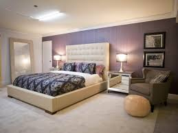 Bedroom:Modern Asian Bedroom Design With Purple Accent Wall Paint And  Crystal Chandelier Ideas Fascinating