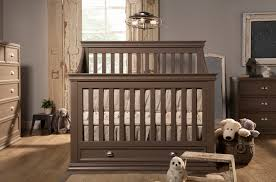 rustic crib furniture. rustic gray baby crib with drawer underneath furniture p
