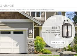 white wooden garage outdoor lighting fixtures illuminate your driveway garage or parking area to