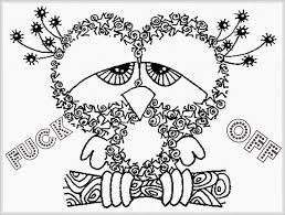 Astonishing Cuss Word Coloring Pages Free Swear Printable Page