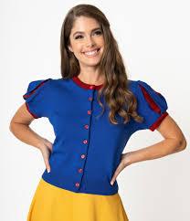 Elhoffer Design Elhoffer Design Blue Red Poison Apple Princess Knit