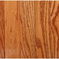 Bruce Plano Oak Gunstock 3/4 in. Thick x 2-1/4 in. Wide x Random Length  Solid Hardwood Flooring (20 sq. ft. / case)-C111 - The Home Depot