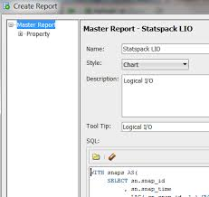 Sql Developer Chart Report Visualizing Statspack Performance Data In Sql Developer
