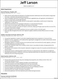 Pharmacy Assistant Sample Resume Pharmacy Technician Sample Resume Resume Sample For Pharmacy 15