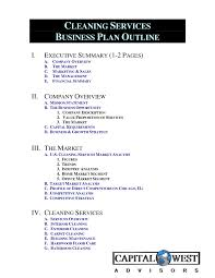 Home Care Business Plan Pdf Cleaning Services Uk Service Proposal ...