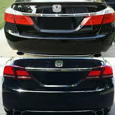 2014 Honda Accord Lights Us 196 97 For 2013 2014 2015 Honda Accord Tail Lights 4door Sedan Led Brake 1 Pair Lh Rh Low Shipping Cost In Car Light Assembly From Automobiles