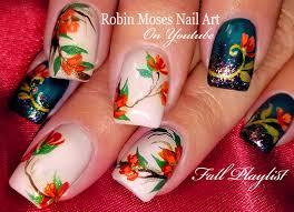 Robin Moses Nail Art: Fall Nails | Easy Autumn Nail Art Design ...