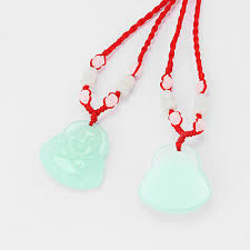1pcs red string lucky chinese buddha