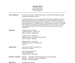 Teenage Resume For First Job Cover Letter Sample Resume For Highschool Student With No How To 96