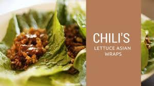 Chili's asian lettuce wrap recipe