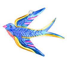 Tin birds x 5 | Milagros