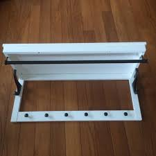 Ikea Hemnes Coat Rack Interesting IKEA Hemnes Hat Coat Rack White Furniture On Carousell