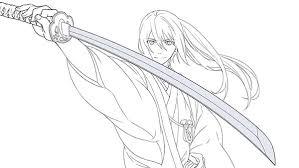刀の描き方講座日本刀を持つポーズや構造を解説お絵かき講座パルミー