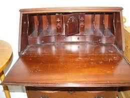 image of drop front secretary desk hardware