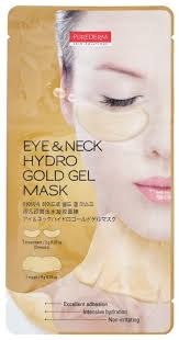 Purederm Гидрогелевая <b>маска 2 в 1</b> для области глаз и шеи ...