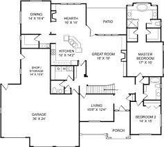 Example Floor Plan ...
