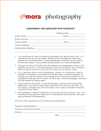 Wedding Photography Contract Form Template Free Printables Photography Contract Template Photography
