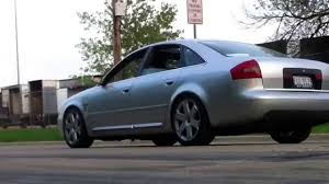 2001 Audi A6 2.7T 6 speed launch, stage 2+ - YouTube