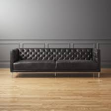 modern chesterfield sofa. Delighful Chesterfield Savile Black Leather Tufted Sofa To Modern Chesterfield Sofa G