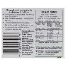 Buy Combantrin Chocolate Squares 24 Online At Chemist Warehouse