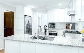 White Cabinets With White Granite Image Of White Granite With White