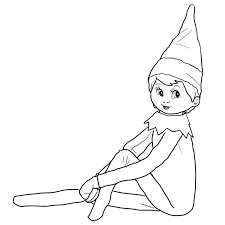 Fantasy Elf Coloring Pages Free Coloring Sheets