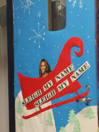 The teachers at my school are having a door decorating contest. This is my  math