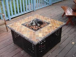propane fire pit table kit belezaa