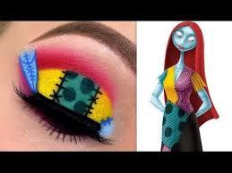 nightmare before eye makeup sally makeup tutorial the nightmare before you