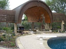 pergolas and arbors outdoor fireplaces