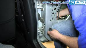 how to install replace rear door check strap 2001 06 chrysler sebring you