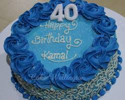 40th Birthday Cake For Him Her Men Ladies Ideas Decorations