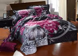 purple and grey bedding sets black and grey comforter sets black and grey