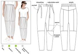 Pattern Pants Extraordinary Isla Pant Style Arc