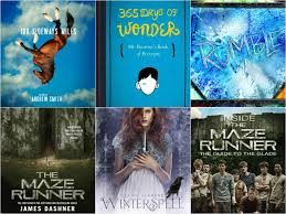 365 days of wonder by r j palacio the maze runner by james dashner paperback and hardcover