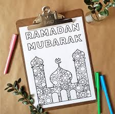 Printable ramadan mubarak coloring pages for kids.free online print out ramadan mubarak coloring book for kids.print out islamic activities worksheets for kids.word search,crafts top 10 free printable volcano coloring pages online. Freebie Friday Ramadan Inspired Coloring Page Tayonthemove