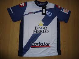 Camisetas Del Fútbol Argentino: Nueva Camiseta de Deportivo Merlo 2012
