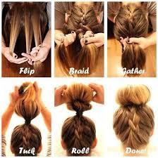 bun hairstyle tutorial