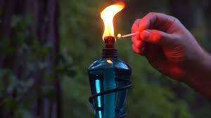 lighting tiki torches. Tiki Torch Lighting Torches