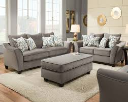 Light Grey Couch Set Light Gray Couch Set Swooping Armrests Bella Gray Sofa