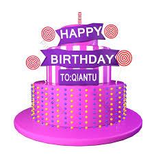 Bánh ngọt 3D C4D chúc mừng sinh nhật phông chữ ba chiều kẹo mút   Công cụ  đồ họa PSD Tải xuống miễn phí - Pikbest