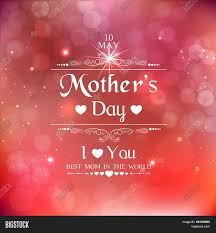Happy Mothers Day Poster Design Beautiful Poster Vector Photo Free Trial Bigstock